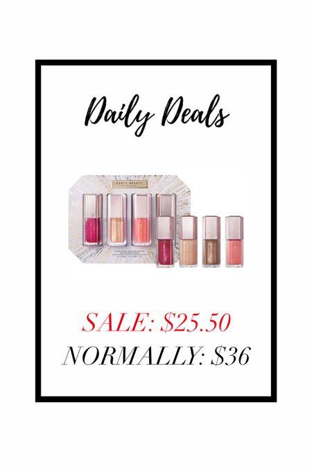 FENTY beauty gloss bomb set is on SALE at Sephora for $25.50 from $36! Love these lip glosses! #liketkit #LTKgiftspo #LTKNewYear #LTKsalealert @liketoknow.it http://liketk.it/34td0