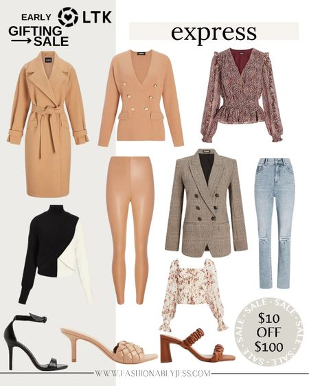 Loving what Express put out for fall. So many great pieces   #LTKSale #LTKunder100 #LTKunder50