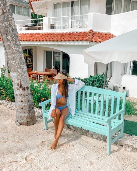 Beach outfits Beach swimsuit  Amazon finds Shein bikini   http://liketk.it/3ikGi #liketkit @liketoknow.it #LTKswim #LTKunder50 #LTKsalealert