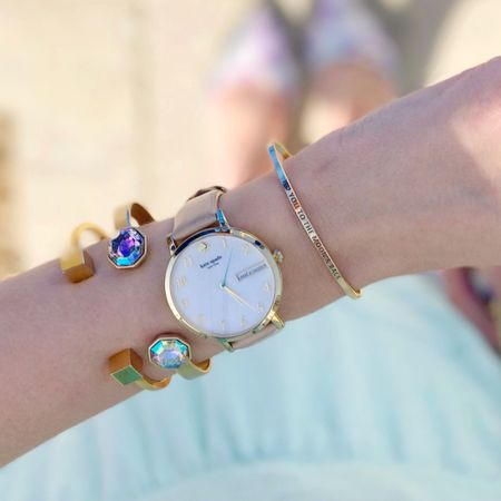 Anyone else buy birthday gifts for themselves??? This watch was a gift to me by me for my 30th birthday in November. Shop my everyday arm party here👉🏻 http://liketk.it/2qU4L @liketoknow.it #liketkit