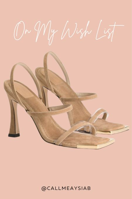 These Good American Sandals are literally so cute! I love the gold detailing of the show and appreciate that they do extended sizes! I can't wait to get my hands on these!   #LTKSeasonal #LTKstyletip #LTKshoecrush