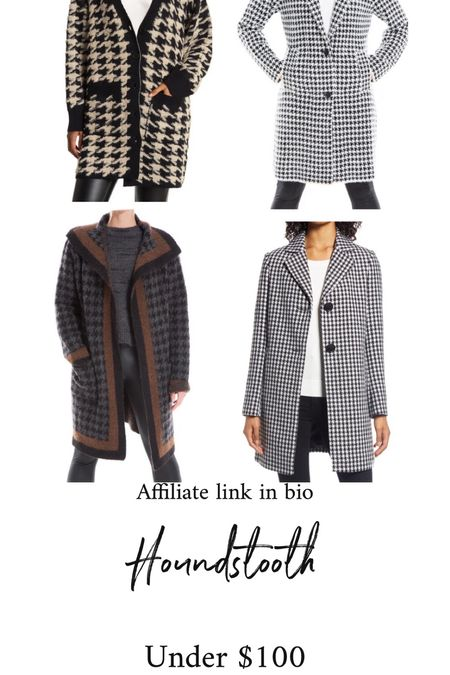 Houndstooth for fall  #thedailydupes   #LTKSeasonal #LTKunder100