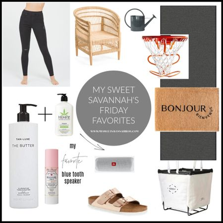 From self tanner to basketball. From spanx jeans (on sale) to metallic Birkenstock's! Friday favorites is here! http://liketk.it/3gOxI #liketkit @liketoknow.it
