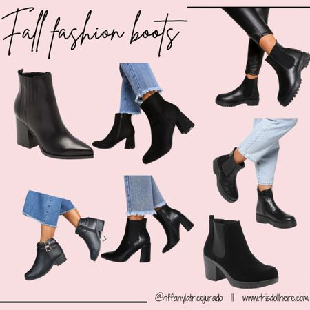 Fall fashion, fall boots, boots, booties, black boots  #LTKSeasonal #LTKstyletip #LTKshoecrush