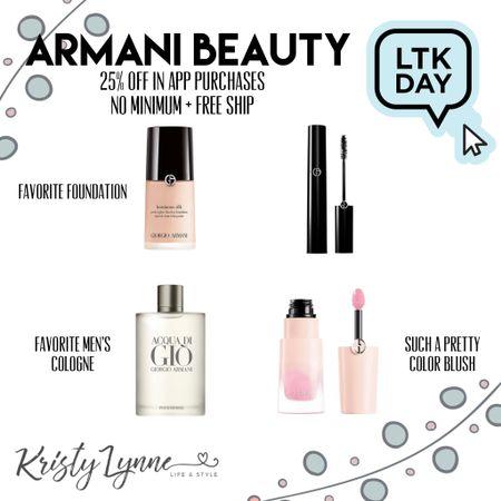 Armani Beauty Sale - Favorite foundation I've found all year! Shop in the LTKI app for 25% off this weekend!   #LTKunder100 #LTKsalealert #LTKbeauty