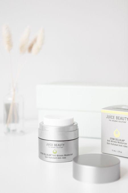 Juice Beauty Stem Cell Anti-Wrinkle Moisturizer has the best packaging! http://liketk.it/3dW3J #liketkit @liketoknow.it #LTKunder100 #LTKbeauty #ltkskincare @liketoknow.it.home