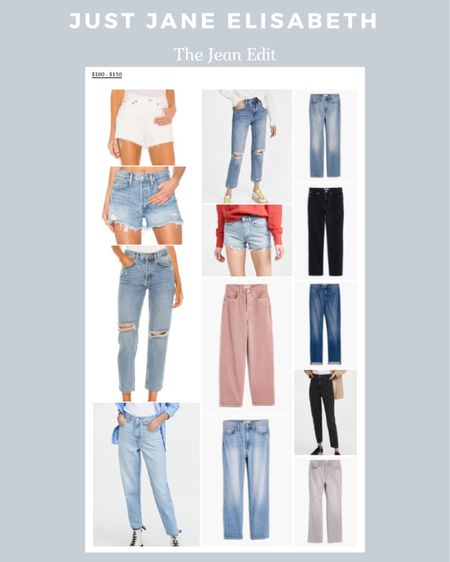 The Jean Edit: check out these cute jeans ranging from $100-$150! http://liketk.it/3ahLT #liketkit @liketoknow.it