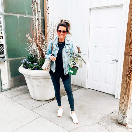 Currently choosing Plants >People 🌱 Desperately needed to get out of the house so we made a quick run to @mulhalls and I have to say a greenhouse full of beautiful plants perked my spirits up! If you're a plant newbie like me, the Rubber plant variety are durable and suuuuuper hard to kill, just FYI 👌🏻  - - - I'm outfit news, everything I'm wearing is on major sale! Size XS Short in leggings (they have pockets!), XS in sweatshirt, & size M in jacket. Click the link in my bio to shop! http://liketk.it/2M1YB @liketoknow.it #liketkit #LTKunder50 #LTKunder100 #LTKsalealert