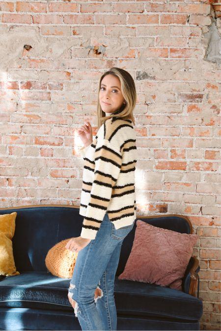 http://liketk.it/32Qxx #liketkit @liketoknow.it #LTKunder50 #LTKgiftspo #StayHomeWithLTK great 70s vibe sweater from Inspired Boutique