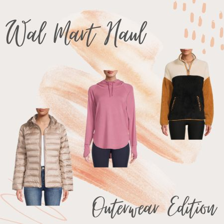 Wal Mart Haul — Outwear Edition 🤍  #LTKunder50 #LTKstyletip #LTKSeasonal