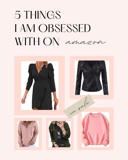 Amazon fashion   #ltkunder50 #jackets #shackets #dress #leatherjacket #sweaters   #LTKstyletip #LTKGiftGuide #LTKHoliday
