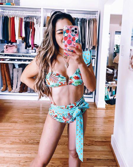 Amazon high waisted bikini - S / TTS  One shoulder swimsuit   @liketoknow.it http://liketk.it/3gHVf #liketkit #LTKcurves #LTKswim #LTKfit