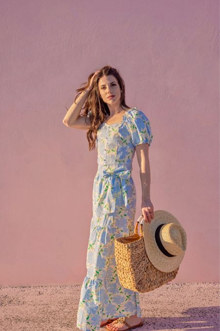 Spring wear | spring dress |  Spring Outfit | spring fashion | wide brim hat | Target Finds   #LTKwomens #LTKfashion #LTKstyle #targetfinds #spring #springshowhaul #springshoes #springfashion #springstyle #sandals #shoes #summersandals #neutralsandals  Shop my daily looks by following me on the LIKEtoKNOW.it shopping app.   #LTKSpringSale #LTKunder50 #LTKsalealert