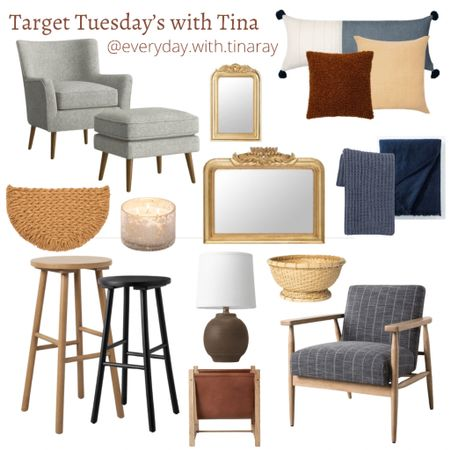 • TARGET TUESDAY'S WITH TINA •   Big Sales happening this week! Some things are up to 50% Off! This is just a glimpse of what's all on sale 🎯 Do you have a fav? I've already put the leather and wood magazine rack in my cart! 😍  To look at past weeks Target Tuesday's, follow #targettuesdayswithtinaray    Follow me on the LIKEtoKNOW.it shopping app to get the product details for this look and others http://liketk.it/3g6sD @liketoknow.it @liketoknow.it.home @liketoknow.it.family #liketkit #LTKhome #LTKsalealert #LTKfamily