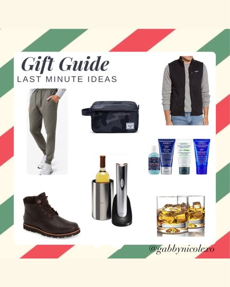 Gift guide for men- last minute Christmas gift ideas for him Get all these gift ideas guaranteed for Christmas delivery! #liketkit #LTKgiftspo @liketoknow.it http://liketk.it/348Fy