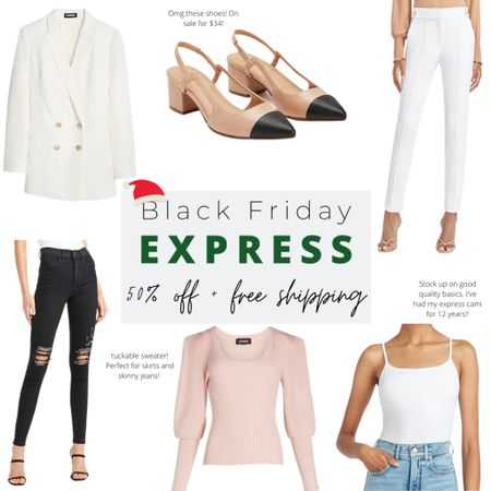 My express Black Friday sale picks! Use this as a gift guide for her or for yourself 😜 http://liketk.it/321MR #liketkit @liketoknow.it