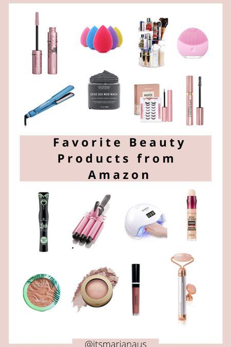 Amazon beauty favorites.❤️  #LTKstyletip #LTKitbag #LTKunder50