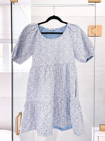 Fall floral 🤍 Cutest dress at a great price #ootd #fashion #fall #floraldress #madewell #floral #falldress #shopbop #  #LTKstyletip #LTKunder100