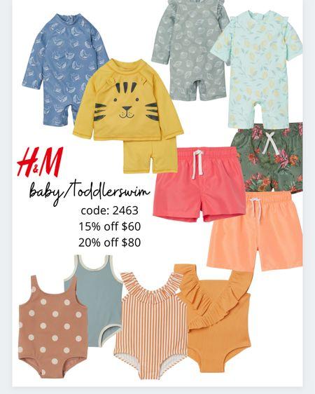 H and m sale! Swim! http://liketk.it/3gXo9 #liketkit @liketoknow.it #LTKswim #LTKsalealert #LTKbaby
