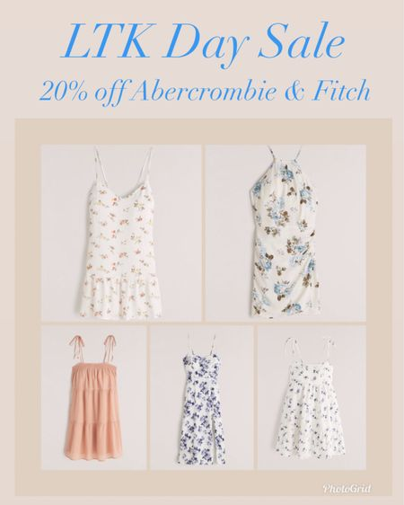 Abercrombie and Fitch summer dresses now 20% off for LTK Day   #LTKDay #LTKunder100 #LTKsalealert #liketkit @liketoknow.it http://liketk.it/3hjDB    Spring dresses  Maxi dress  Floral dress Wedding guest dress  Wedding season  Abercrombie dresses  Spring style  Vacation style  Summer outfit  Date night outfit  Summer dresses  Abercrombie and Fitch