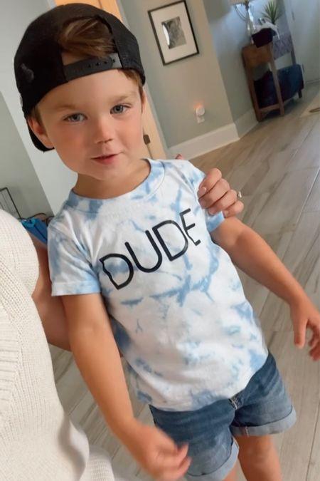 Jack's Dude shirt is linked!   #LTKbaby #LTKunder50 #LTKkids