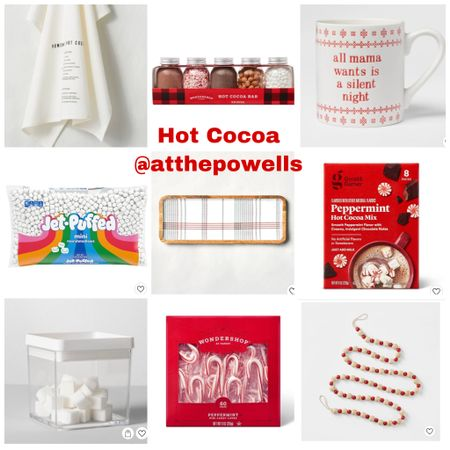 Hot Cocoa Bar Essentials http://liketk.it/30QXz #liketkit @liketoknow.it #StayHomeWithLTK #LTKhome @liketoknow.it.home Shop your screenshot of this pic with the LIKEtoKNOW.it shopping app