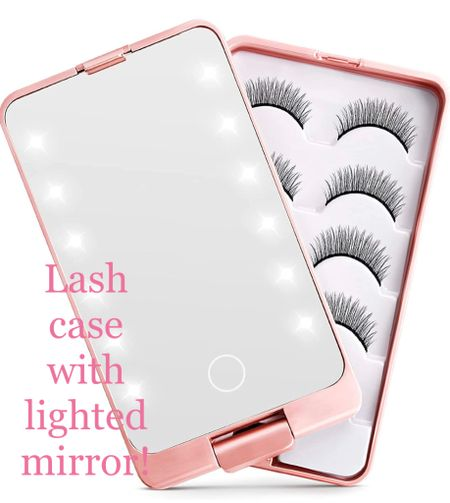 I've recently become obsessed with doing my own lash extensions at home so I went to Amazon to find a better storage solution for them! Enter this adorable lash storage case! This is going to save so much room under my bathroom sink! 👏🏼👏🏼  #LTKunder50 #LTKbeauty