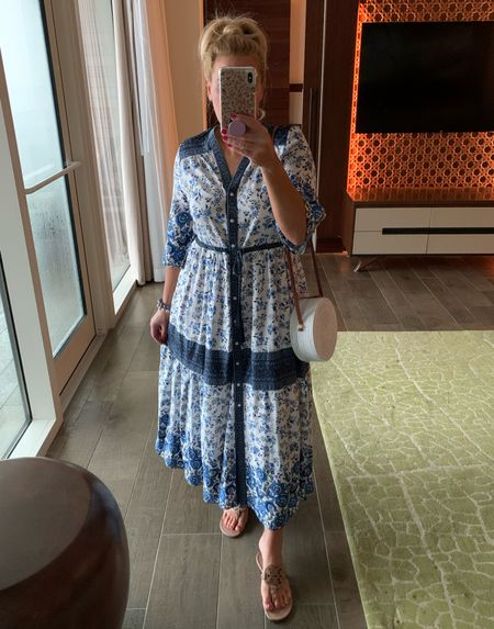 Love this maxi dress from Amazon.  Wearing a large.      #swimsuit #swimsuits #beach #beachvacation #bikini #vacationoutfits    #vacay #vacaylook #vacalooks #vacationoutfit #springoutfit #springoutfits #beachvacationoutfit #beachvacationoutfits #springbreakoutfit #springbreakoutfits #beachoutfit #beachlook #beachdresses #vacation #vacationbeach #vacationfinds #vacationfind #vacationlooks #swim #springlooks #summer #summerlooks #swimsuitcoverup #beachoutfits #beachootd #beachoutfitinspo #vacayoutfits #vacayoutfitinspo #vacationoutfitinspo #tote #beachbagtote #naturaltote #strawbag #strawbags #sandals #bowsandals #whitesandals #resortdress #resortdresses #resortstyle #resortwear #resortoutfit #resortoutfits #beachlooks #beachlookscasual #springoutfitcasual #springoutfitscasual #beachstyle #beachfashion #beachvacay #vacationfashion #vacationstyle #swimwear #swimcover #summerfashion #summerstyle       #LTKsalealert #LTKunder100 #LTKunder50