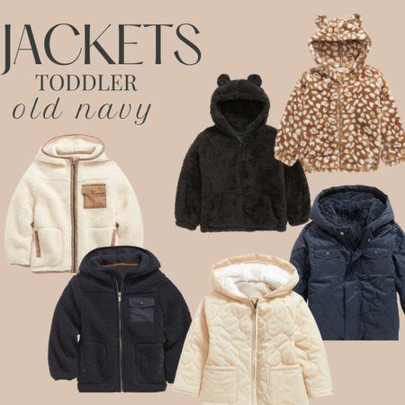 Toddler Jackets from Old Navy   #LTKfamily #LTKkids #LTKsalealert