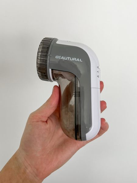 This fabric shaver is a must for fall and winter! It saves your sweaters and coats from piling. I also use it on furniture   #amazonfinds #amazonprime #wardrobeessential