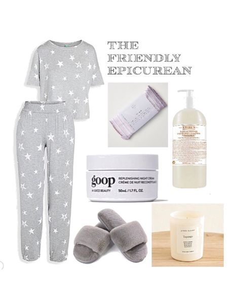 Sleep better with my favorite PJs, fuzzy slippers,  and bedtime clean beauty products. Jenni Kaybe has the BEST candles for your bedroom. The lavender scented eye pillow makes you feel like you're back at the spa. http://liketk.it/2Ux0y #liketkit @liketoknow.it #StayHomeWithLTK #LTKhome @liketoknow.it.home Shop your screenshot of this pic with the LIKEtoKNOW.it shopping app