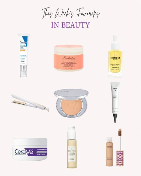 These are some of the top picks this week in safer clean beauty.  These are all beauty brands I love! This curl cream has been one of my favorites for years. I'm also a big fan of Tarte concealer and all the cerave products for sensitive skin.   Follow me for more ideas and sales.   #LTKbeauty #LTKunder50 #LTKstyletip