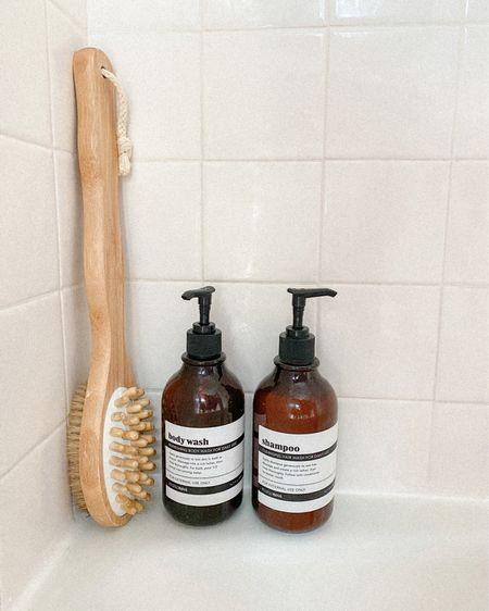 http://liketk.it/3ifiV #liketkit @liketoknow.it  Bathroom storage bottles for a modern shower