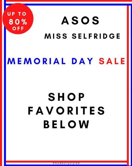 Check out Miss Selfridge amazing memorial day sale  #memorialdaysale #sale #missselfridge #memorialday  #LTKDay #LTKsalealert #LTKstyletip