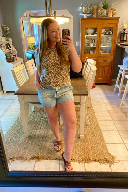 These comfy chambray shorts are currently on sale for under $14! I have NEVER seen such low prices at Aerie 🙌🏻 Sizes are selling out so fast so grab yours while you can 💁🏼♀️ They fit tts, but size up if you want a looser fit. 😍🛍 http://liketk.it/2USYF @liketoknow.it #liketkit #LTKunder50 #LTKsalealert #LTKstyletip