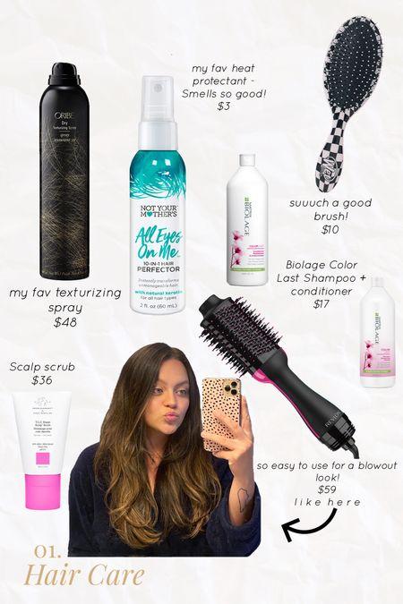 My favorite hair care products! Beauty + hair  #LTKunder50 #LTKsalealert #LTKbeauty