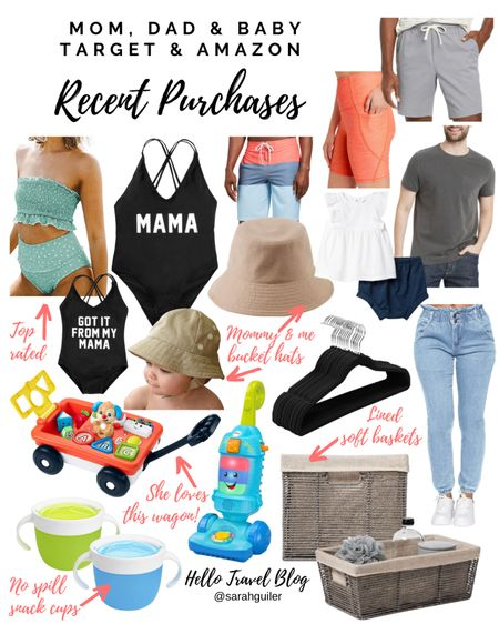 Amazon finds. Target finds. Amazon fashion. Target style. Men's swim. Men's fashion. Mommy and me. Family vacation. Beach vacation. Matching family. Baby girl. Baby swim. Home decor. Baby toys. @liketoknow.it @liketoknow.it.home @liketoknow.it.family http://liketk.it/3gC4M #liketkit #LTKbaby #LTKfamily #LTKswim