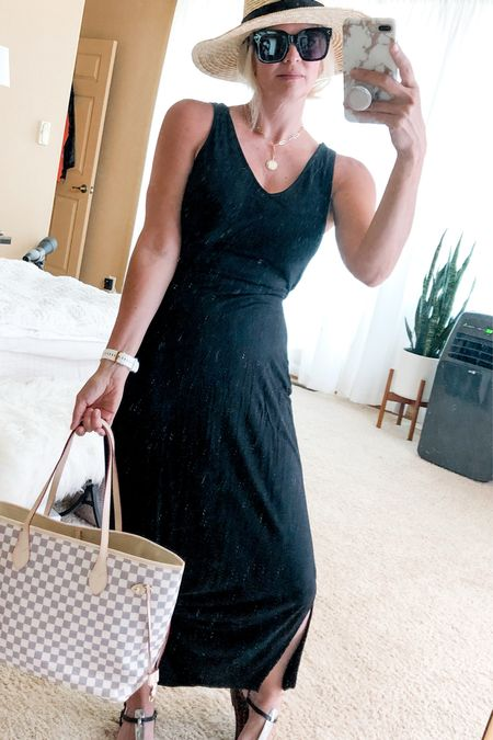 Summer hat outfit. Summer dress. Casual summer outfit.   #LTKunder50 #LTKstyletip #LTKtravel