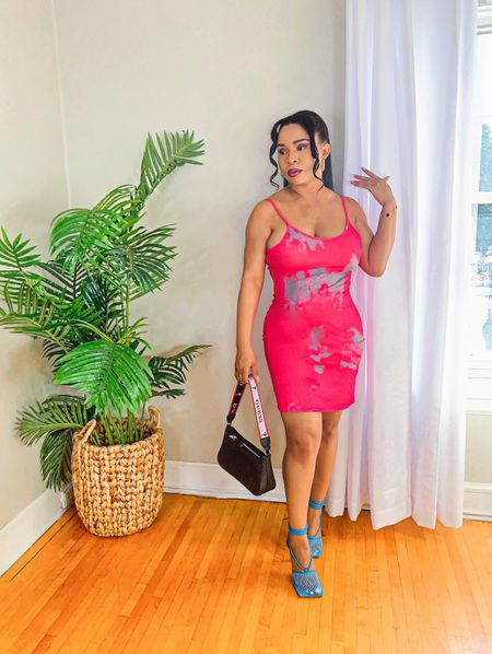 Check out this Tie Dye Bodycon Dress 👗 perfect for brunch and ladies night out 👯♀️. #LTKSeasonal #competition #  #LTKunder100 #LTKfit #LTKitbag