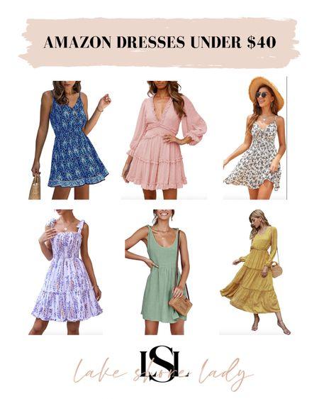 Amazon Dresses Under $40! @liketoknow.it http://liketk.it/3g0t3 #liketkit  Amazon fashion Affordable dresses Under $50 Sundresses Summer dresses Day dresses   #LTKunder50 #LTKunder100