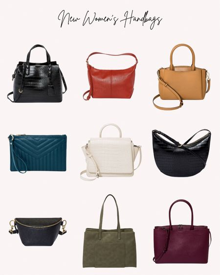 Women's handbags, new, bags, purse  Follow me for more ideas and sales.   Double tap this post to save it for later    #LTKitbag #LTKunder50 #LTKstyletip