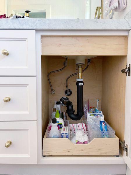 Bins for under the sink! || #bins #organization #storage #homeorganization  #LTKhome