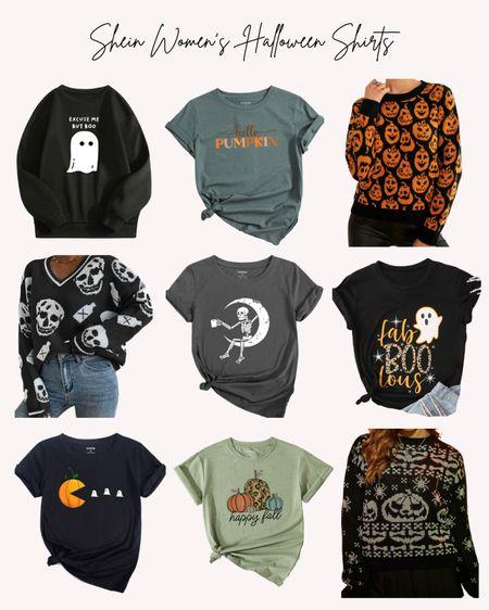 Halloween, women's, tshirt, sweatshirt, sweater, pumpkin, ghost, tops, shirts, spooky  #LTKSeasonal #LTKstyletip #LTKunder50