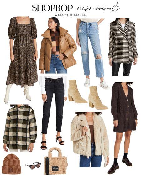 Shopbop new arrival favorites!   #LTKitbag #LTKstyletip #LTKshoecrush