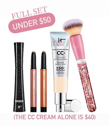 My favorite CC cream is on sale with eyeshadows, mascara and a foundation brush!                   #LTKunder50 #LTKstyletip #LTKbeauty