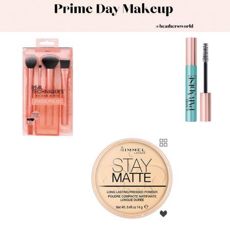 Prime day makeup favourites   #lktit #primeday #rimmellondon #loreal #realtechniques #makeup #makeupbrushes   #LTKbeauty #LTKsalealert #LTKunder50