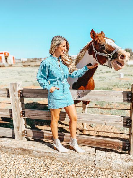 Red Dress white western booties are legit amazing! TTS and $102! They're sooo cute!   #LTKstyletip #LTKshoecrush #LTKunder100