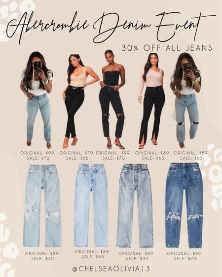 Abercrombie denim event! My absolute favorite jeans ever!!  #whitetshirt #bodysuite #falloutfit  #DenimSale #jeansonsale #Denim #jeans #abercrombiejeans #momjeans #highrisejeans #sale #nsale #nordstormsale #fallfashion #fall #backtoschool #fallbreak #gameday #footballseason  #liketkit  @shop.ltk  Follow my shop on the @shop.LTK app to shop this post and get my exclusive app-only content!  #liketkit   Follow my shop on the @shop.LTK app to shop this post and get my exclusive app-only content!  #liketkit  @shop.ltk  Follow my shop on the @shop.LTK app to shop this post and get my exclusive app-only content!  #liketkit #LTKstyletip #LTKunder100 #LTKsalealert @shop.ltk