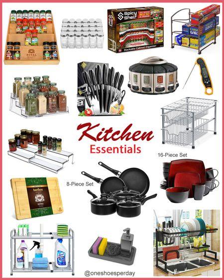 Amazon Finds  Kitchen essentials        http://liketk.it/3pUEg @liketoknow.it #liketkit #LTKGiftGuide #LTKHoliday #LTKSeasonal #LTKsalealert #LTKunder50 #LTKhome Home Decor   Pantry Organization   Amazon Favorites