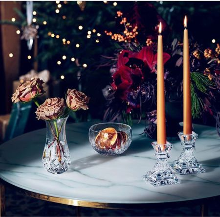 The warm gift of giving—The luxurious and timeless crystal pieces for everyone on your list.   #LTKhome #LTKHoliday #LTKGiftGuide